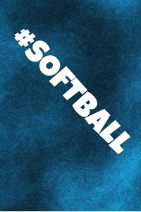 #Softball: Baseball Journal & Softball Sport Coaching Notebook Motivation Quotes - Training Practice Diary To Write In (110 Lined