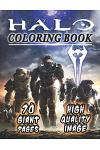 Halo Coloring Book: NEW Coloring Collection for Fans, Teens and Adults with GIANT PAGES and HIGH QUALITY IMAGES