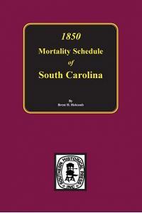 1850 Mortality Schedule of South Carolina