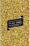 It's Just Shining Glitter Feeling: Internet Password Organizer: (Gold Shining Glitter)