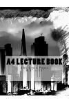 A4 Lecture Book 150 Lined Pages 8.5 X 11: Chicago Cover Design