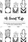 A Secret Life: Internet Password Notebook: Cactus Design (Vol 2)