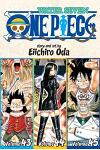 One Piece (Omnibus Edition), Volume 15: Includes Vols. 43, 44 & 45