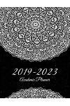 2019-2023 Academic Planner: Black Beauty Art Mandala, 8.5