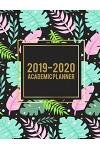 2019-2020 Academic Planner: Pink Forest, 8.5