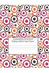 Composition Notebook - College Ruled Line Paper: Floral Bubble Design, 120 Pages, 8.5x11 in