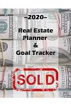 Everything I Touch Turns To Sold: Daily Realtor real estate agent Professional 2020 Planner -Water Color cover - Calendar organizer - 8x10