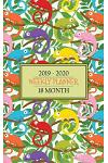 18 Month Weekly Planner 2019 - 2020: Comical Chameleons Will Keep the Bugs Out of Your Schedule So You Can Stay Organized from January 2019-June 2020