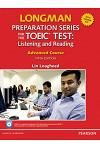 Longman Preparation Series for the Toeic Test: Listening and Reading Advanced ] CD-ROM W