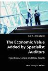 The Economic Value Added by Specialist Auditors- Hypothesis, Sample and Data, Results