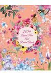 2019 Lesson Plan and Record Book: Water Color Flowers, 2019 Weekly Monthly Teacher Planner and Record Book 8.5