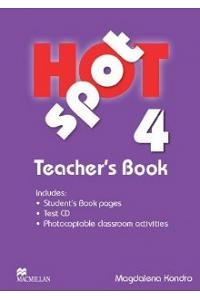 HOT SPOT 4: Teacher's Book & Test CD