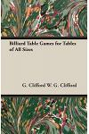Billiard Table Games for Tables of All Sizes