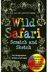 Wild Safari: An Art Activity Book for Imaginative Artists of All Ages [With Wooden Stylus Pencil]