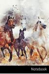 Notebook: Cavalli taccuino - agenda - quaderno delle annotazioni - diario - libro di scrittura - carnet - zibaldone - 6 x 9 (15,