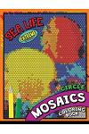 Sea Life Square Mosaics Coloring Book: Colorful Animals Coloring Pages Color by Number Puzzle