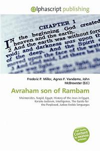 Avraham Son of Rambam