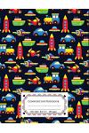 Composition Notebooks Wide Ruled: Colorful Kids Toys Composition Notebook / Books: Wide Ruled Lined Book / Writing Notebook for School, Children's Jou