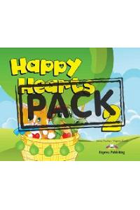 HAPPY HEARTS 2 PUPIL'S PACK 4 (WITH MULTI-ROM PAL)