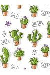 2019 Planner: Cactus Weekly Planner 2019 - Weekly Views with To-Do Lists, Funny Holidays & Inspirational Quotes - 2019 Organizer wit