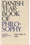 Danish Yearbook of Philosophy1996 V. 31