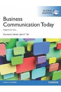 Business Communication Today 12ed
