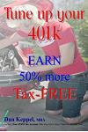 Tune Up Your 401k: Earn 50% More Tax-Free