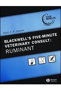 Blackwell's Five-Minute Veterinary Consult Ruminant [With CDROM]