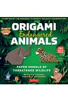 Origami Endangered Animals Kit : Paper Models of Threatened Wildlife