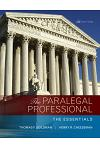 The Paralegal Professional: The Essentials