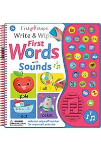 Write and Wipe First Words with Sound (US)
