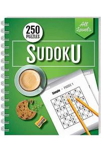 250 Puzzles: Sudoku All Levels (wire-bound)