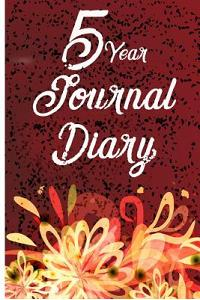5 Year Journal Diary: 5 Years of Memories, Blank Date No Month