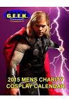 2015 Mens Cosplay Calendar