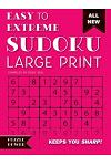 Easy to Extreme Sudoku Large Print (Pink): Keeps You Sharp