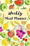 Meal Planner: Weekly Meal Planner with Grocery List Water Tracker and Notes