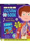 Jigsaw Book Glow Dark Human Body