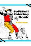 Softball Coloring Book