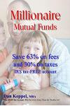 Millionaire Mutual Funds: Save 63% on Fees and 30% on Taxes