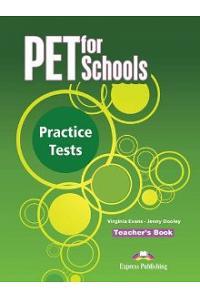 PET FOR SCHOOLS PRACTICE TESTS TEACHERS BOOK (INTERNATIONAL)