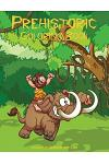 Prehistoric Coloring Book 1