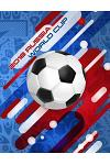 2018 Russia World Cup: Football / Soccer Team 100 Pages Journal Paper for Fans