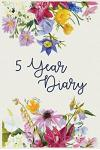 5 Year Diary: 5 Years of Memories, Blank Date No Month