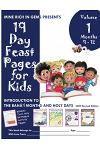 19 Day Feast Pages for Kids: Introduction to the Bahá'í Months and Holy Days - Months 9 - 12: Asmá', 'Izzat, Mashíyyat, & 'Ilm